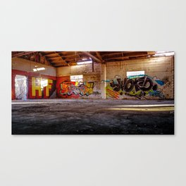 In the Warehouse. Canvas Print