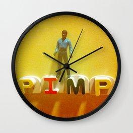 Lando at the Partay Wall Clock
