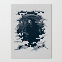Mort Canvas Print