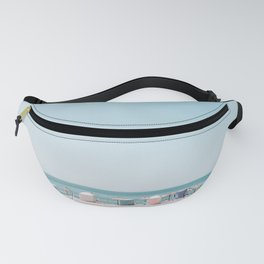 Beach Huts Fanny Pack