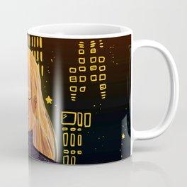 with the city lights Coffee Mug