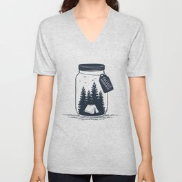 Nature. Collect Moments. Unisex V-Neck