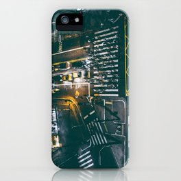 Night walking street 4 iPhone Case