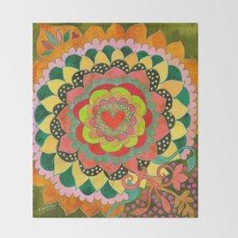 Feral Heart #01 Throw Blanket