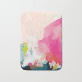 pink sky Bath Mat