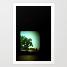 The Space Between Lenses Art Print