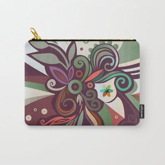 Floral curves II Carry-All Pouch