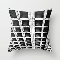 concrete Throw Pillows featuring Concrete by Cobo