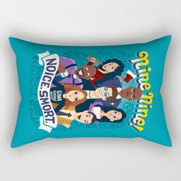 Nine Nine Rectangular Pillow