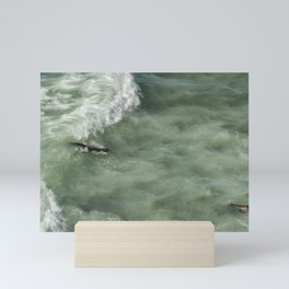 Catching the Wave Mini Art Print