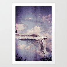 Sky River  Art Print