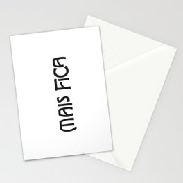 Mais Fica  Stationery Cards