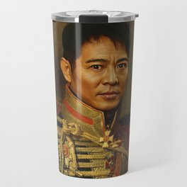 Jet Li - replaceface Travel Mug