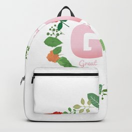 I Love Being Great Grandma Gift For A Grandmother Backpack