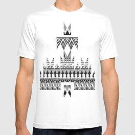 WHISKY AZTEC B/W  T-shirt