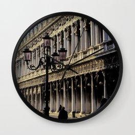 Piazza di San Marco in Venice, Italy.  St. Mark's Square in Venice, Italy Wall Clock