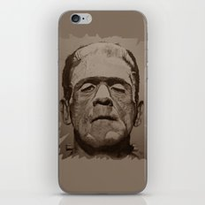 the creature - sepia iPhone & iPod Skin