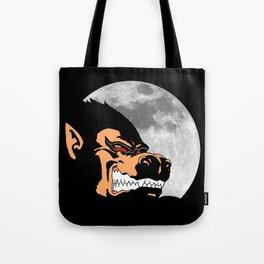 Night Monkey Tote Bag