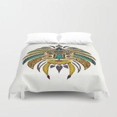 Emperor Tribal Lion Duvet Cover