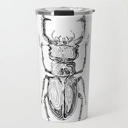 Lucanus cervus Travel Mug