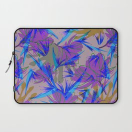 Bird of Paradise and Cosmos Laptop Sleeve