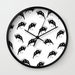 Pizza burger Wall Clock