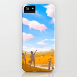 Cloud Spotting iPhone Case