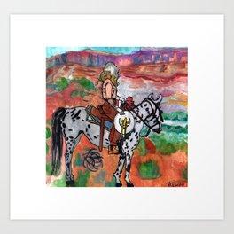 Annie Oakley Art Print