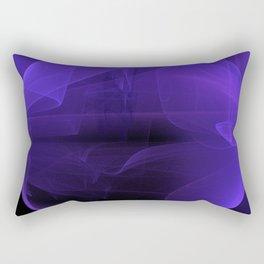 Magic stone - Ultra Violet Rectangular Pillow