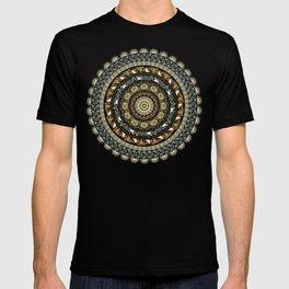 Pug Yoga Medallion T-shirt