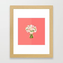 Basic Bouquets Framed Art Print