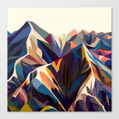 Mountains original Canvas Print