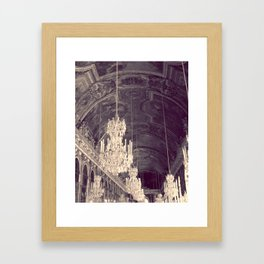 Le Chandelier Framed Art Print