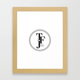 The Fashion Journals  Framed Art Print