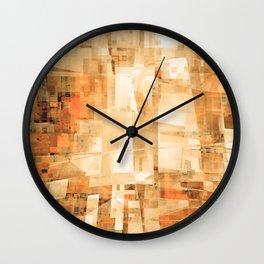 bright canyon wall Wall Clock