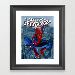 Amazing Spider-Man (Comic Title) Framed Art Print