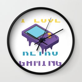 I love retro gaming - Game Boy Gamer Wall Clock