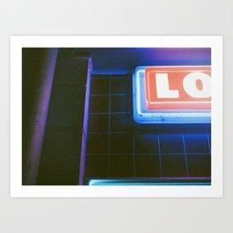 NITE LO Art Print