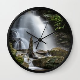 Ricketts Glen Waterfall Wall Clock