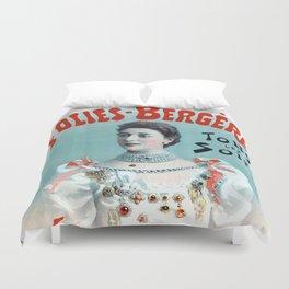 La Belle Otero aux Folies Bergère 1894 Duvet Cover