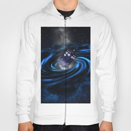 TARDIS BLUE HOLE Hoody