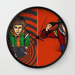 Suicide guy Wall Clock