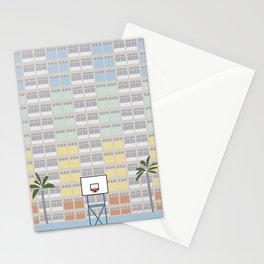 Hong Kong Choi Hung Estate, Wong Tai Sin District, Kowloon Basketball Court Stationery Cards