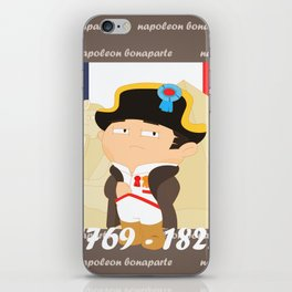 Napoleon Bonaparte iPhone Skin