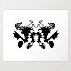 BP Spill #1 Art Print
