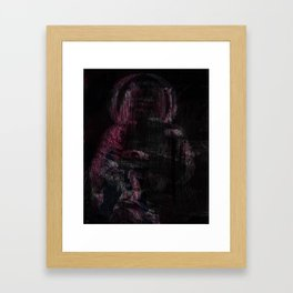 Mother (pink variant) Framed Art Print