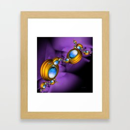 Jewelry for Alien Insects Framed Art Print