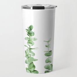 Eucalyptus leaves. Travel Mug