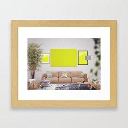 Scene 4 Framed Art Print