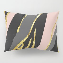 Gold and pale river Pillow Sham